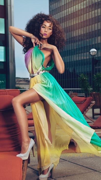 Lucio Vanni Evening Gown - Multicolored